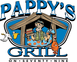 Pappy's Grill on 79 Logo